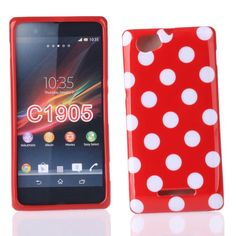 Kit Me Out FR Coque en gel TPU pour Sony Xperia M - rouge, blanc motif à pois Kit Me Out http://www.amazon.fr/dp/B00IZA0WVO/ref=cm_sw_r_pi_dp_dCVHvb0MNCMQY
