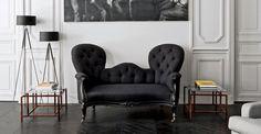 Best use of Victorian Sofa! via Design Addict Mom