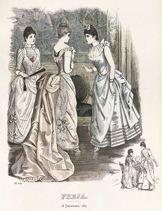 Freja- illustrerad skandinavisk modetidning 1887