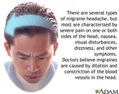 Migraine linked to poor health
