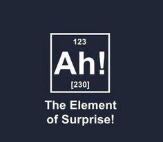 Surprise Element! #humor