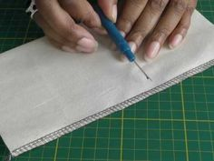 Fashion Sewing Blog TV: All kinds of video tutorials for sewing and serging.  I found a great video for sewing a hem on delicate fabrics