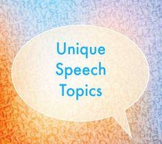 Informative Speech Ideas Updated Weekly  Speech Ideas