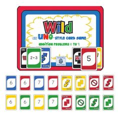 FREE Addition Uno Game - Frugal Homeschool Family