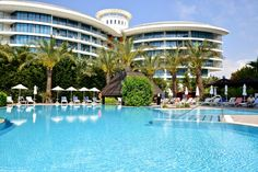 Liberty Hotel Lara in Antalya Türkei Antalya, Hotels, Holiday Fun, Liberty, Villa, Around The Worlds, Mansions, House Styles, Beach