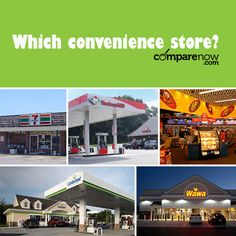 You're on the road and need gas, a snack and/or a bathroom. Which convenience store are you hoping to find? #conveniencestore #car #cars