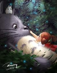 Totoro, the movie...Watch with your favorite kids