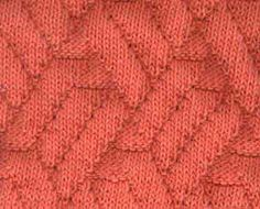 Pavilion The zigs, zags and lines make this a visually interesting pattern. The reverse side, although not identical, is attractive as wel. Knitting Stiches, Knitting Charts, Loom Knitting, Crochet Stitches, Hand Knitting, Stitch Patterns, Knitting Patterns, Crochet Patterns, Knit Dishcloth