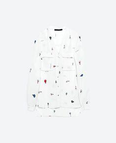 Zdjęcie 6 BLUZKA Z ODKRYTYMI PLECAMI z Zara Zara, Blouse, Long Sleeve, Sleeves, Collection, Tops, Women, Fashion, Moda