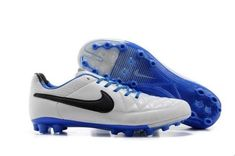 the latest 5779e a360a Welcome to buy Nike Elite Tiempo Legend Ag White Blue Black and enjoy  cosiderate service and quick delivery