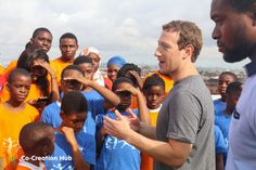 Mark Zuckerberg meets with African tech leaders on Nigerian tour
