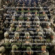 "My inspired quote after watching the movie ""Lone Survivor"". #SupportTheTroops"