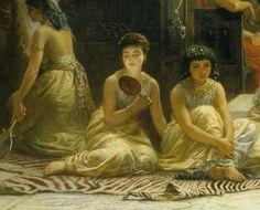 Edwin Long - The Babylonian Slave Market (1875) - Detail