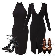 Nothing like a black dress!