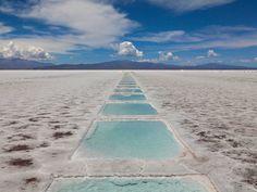 25 das paisagens mais surreais da terra 11 - Las Grandes Salinas, Argentina