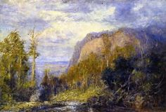 Camel Hump, huile sur toile de Frederick Mccubbin (1855-1917, Australia)