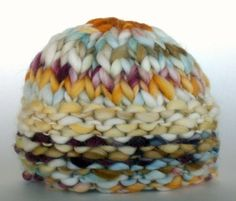 Knit hat by marsha