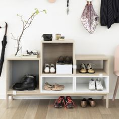STACKED shelf system - Hallway / Muuto / walls & halls / FunktionAlley