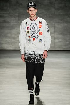 FALL 2014 MENSWEAR LIBERTINE MEN »