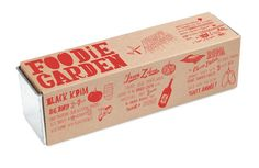 Foodie Garden, is a growing kit that lets your own herbs and vegetables.