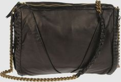 Elie Tahari Medium Leather Bags in Black (green) | Lyst