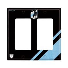 Minnesota United FC Double Rocker Light Switch Cover