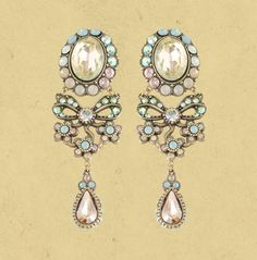 Bow Clip On Earrings 15704 |Michal Negrinミハエル ネグリン