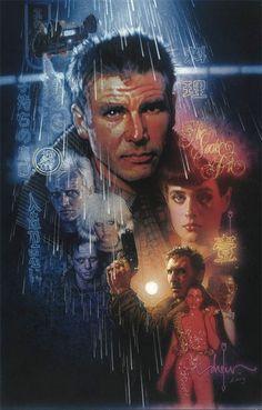 30th anniversary dvd release of Blade Runner - poster art by Drew Struzan