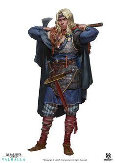 Fantasy Character Design, Character Concept, Character Art, Concept Art, Character Ideas, Character Inspiration, The Elder Scrolls, Vikings, Fantasy Rpg