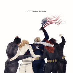 In dark times, let's remember to always look out for one another. We're all one big family after all. #marvel