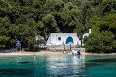 Skorpios Island in the Ionian Sea Skorpios or Scorpios is a private island in the Ionian Sea off the western coast of Greece and just to the east of the island of Lefkada. Places Ive Been, Places To Go, Aristotle Onassis, Wine Poster, Western Coast, Next Holiday, Jackie Kennedy, Greek Islands, Greece Travel
