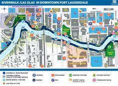 Riverwalk/Las Olas in Downtown Fort Lauderdale