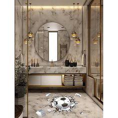 Inspire Me Home Decor, Bad Inspiration, Bathroom Inspiration, Bathroom Design Luxury, Home Interior Design, Luxury Bathrooms, Master Bathrooms, Modern Luxury Bathroom, Luxury Interior