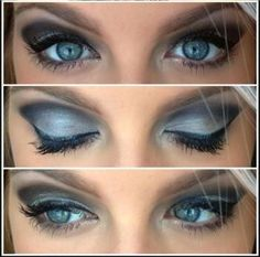 This Smoky Eye Look can be yours.  Check out my website for a product list.