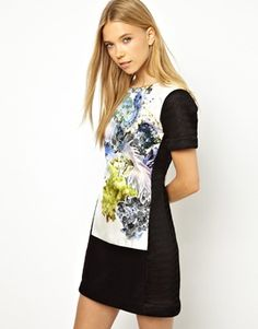 ASOS Louise Amstrup Dress with Print Panels $738.62