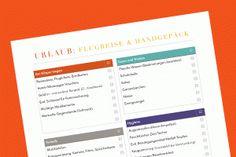 Checkliste: Flugreise & Handgepäck