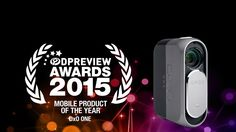 """The #DxOONE wins the Mobile Product of the Year award at #PIX2015.  The DxO ONE is the first large sensor clip-on camera to physically connect to a smartphone, making it easy to use. The quality of the lens, combined with a large 1""""-type sensor means there's a clear advantage to using it over your phone's built-in camera, and its genuine pocketability helps it become the other camera you have with you. It's an excellent way of capturing unexpected moment in much higher than smartphone…"""