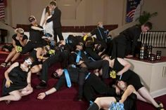 Nightwing and batgirl wedding picture