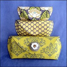 Download Sunglass Case & Clutch (with invisible magnetic closure) Sewing Pattern | Crafts | YouCanMakeThis.com