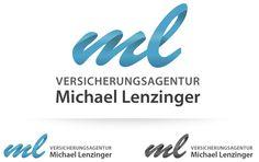 Simple: ml = Michael Lenzinger Web Design, Logo Design, Of Brand, Grafik Design, Branding, Simple, Inspiration, Insurance Agency, Creative Logo
