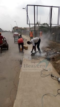 Breaking job, Epe, Lagos 2020 (Heavenscon) Projects, Tile Projects