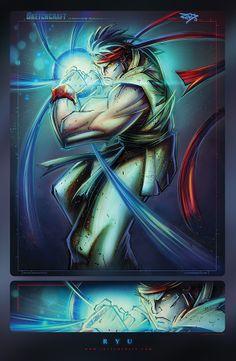 Ryu by RobDuenas.deviantart.com on @deviantART
