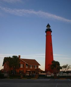 Ponce Inlet Lighthouse - Ponce Inlet, Florida   worked for the town almost 15 years.  It was a great fishing town till the condos got built and ruined the atmosphere