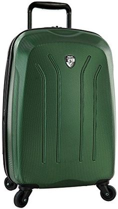Lightweight Pro 21 Hardsided Spinner Suitcase Color Green *** More info could be found at the image url.