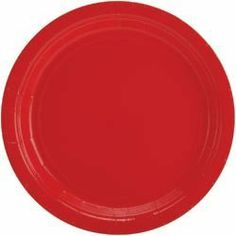 """AMSCAN Big Party Pack Luncheon Paper Plates 7"""" 60/Pkg Apple Red 640013-40; 2 Items/Order by Amscan. $11.18"""