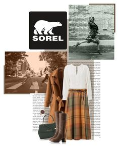 """Kick Up the Leaves (Stylishly) With SOREL: CONTEST ENTRY"" by luckyiminlove ❤ liked on Polyvore featuring SOREL, See by Chloé, MICHAEL Michael Kors, L.L.Bean, Olivia Burton and sorelstyle"
