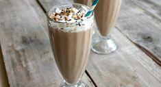 Mmmmm, a peanut butter and banana chocolate shake - sounds heavenly!