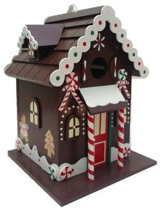 Gingerbread House Birdhouse