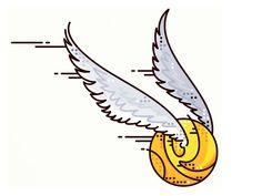 dribbblepopular: Harry Potter!! Golden Snitch!! http://ift.tt/1XIQc8D