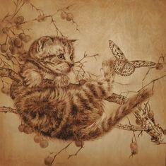 Елена Лесина - Выжигание по дереву